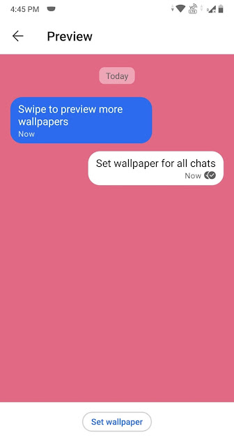 preview for chat background in signal