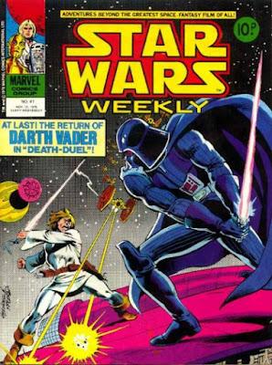 Star Wars Weekly #41, Darth Vader