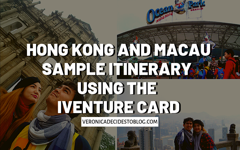 Hong Kong and Macau on a Budget using the iVenture Card