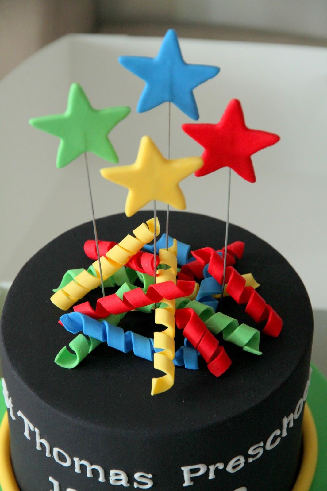 Sugar Creation Preschool Graduation Cake