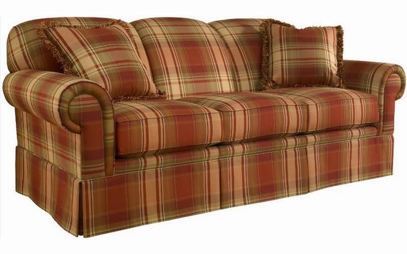 plaid canap. Black Bedroom Furniture Sets. Home Design Ideas