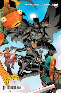 Batman/Fortnite 4 - Cover