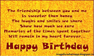 Happy Birthday Wishes For Special Friends