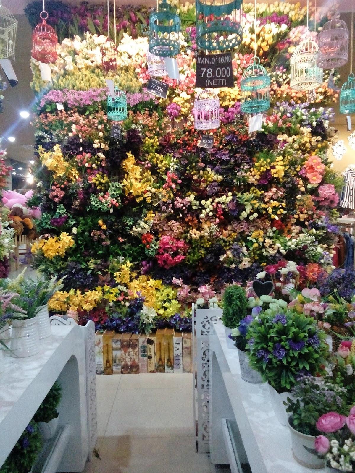 bunga sintetis Jolie Jogja Wirobrajan
