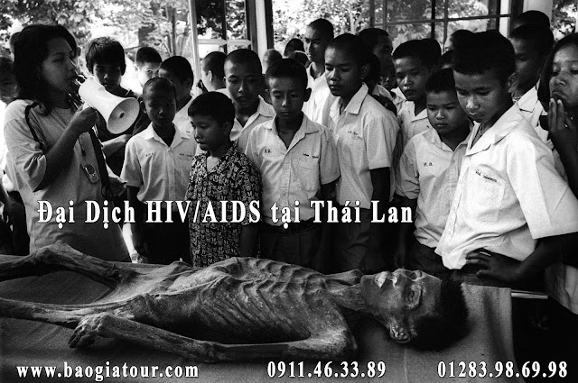 đại dịch hiv/aids tại thái lan www.baogiatour.com