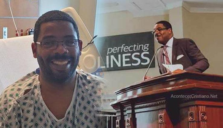 Pastor Kenny Baldwin sanado de coronavirus