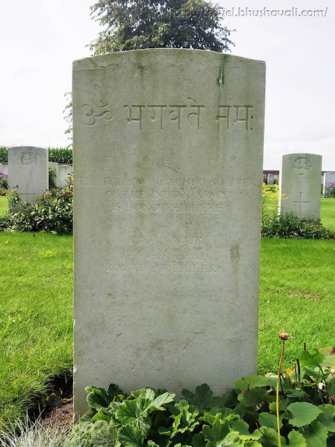 WWI Soldiers Indian Graves in Belgium The Huts Cemetery