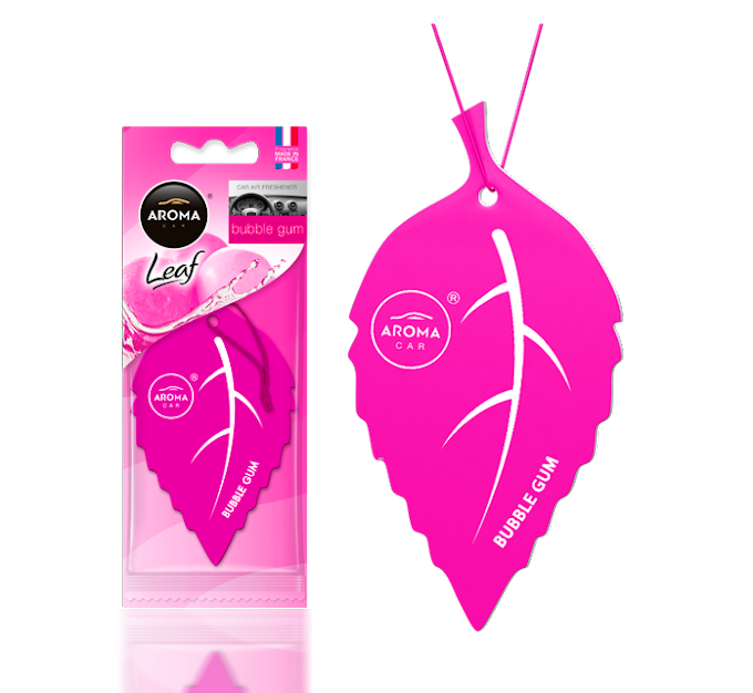 Lá thơm Aroma Car Leaf - Bubble Gum