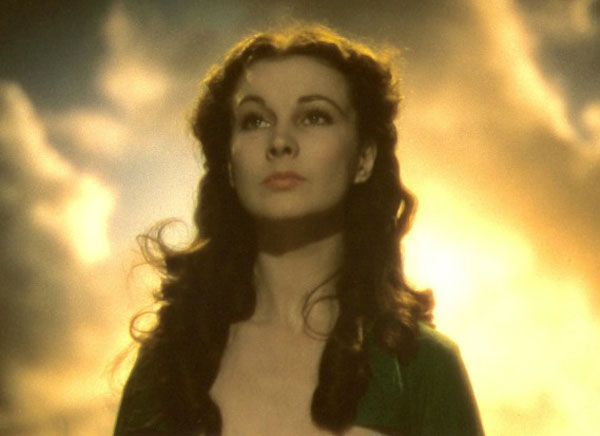 Scarlett O'Hara in Gone with the Wind