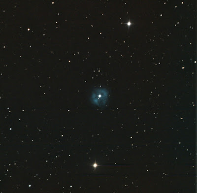 planetary nebula NGC 1514 in colour