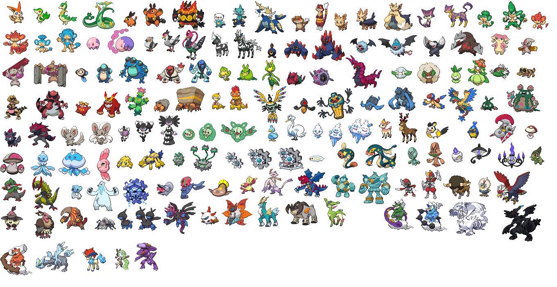 Pokemon Gen 5