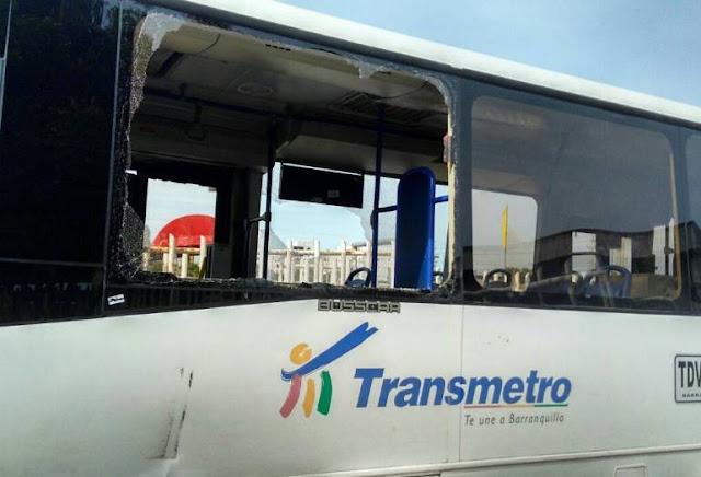 El vandalismo hacía transmetro, un mal de nunca acabar