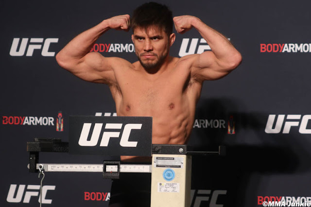 Henry Cejudo UFC 249 Weigh In