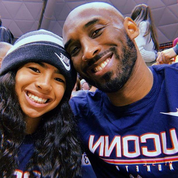 Foto de Kobe Bryant Junto a su Hija GIGI
