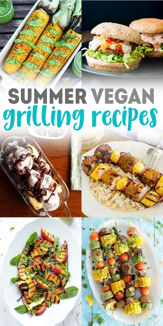 Yep, you can definitely still utilize the grill if you're a vegan or vegetarian! These vegan grilling recipes are the epitome of summertime and outdoor cooking.