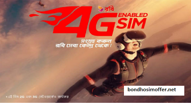 Robi 4G Enable Usable at 2G/3G/4G Sim Networks