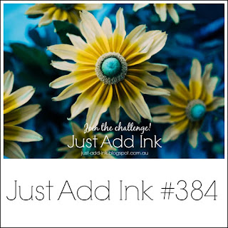 Jo's Stamping Spot - Just Add Ink Challenge #384