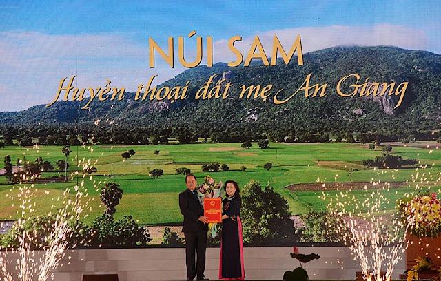 """Khu du lịch Quốc gia Núi Sam: Biểu tượng """"du lịch tâm linh"""" đặc sắc của Vùng ĐBSCL"""