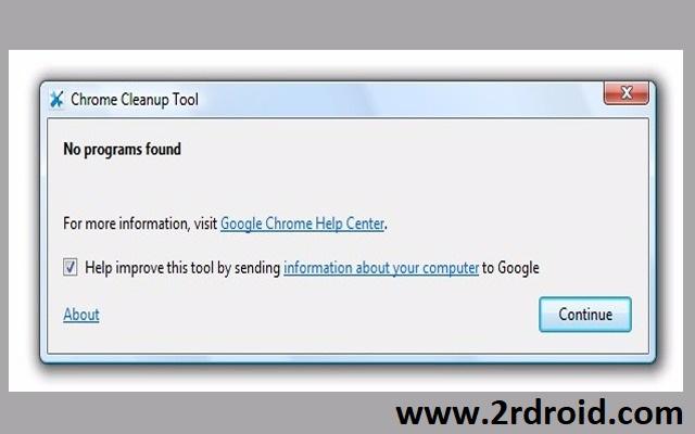 وداعا لمشاكل جوجل كرون مع الأداه الجديدة Chrome Cleanup Tool
