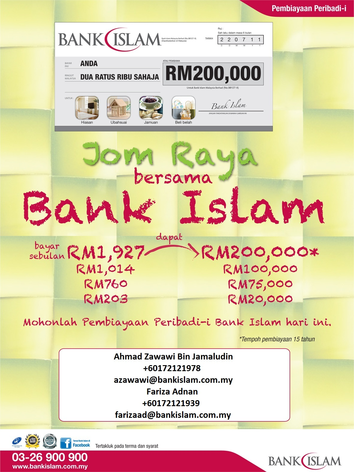 My Social Network: List Of Panel Employer @ Bank Islam Personal Financing-i