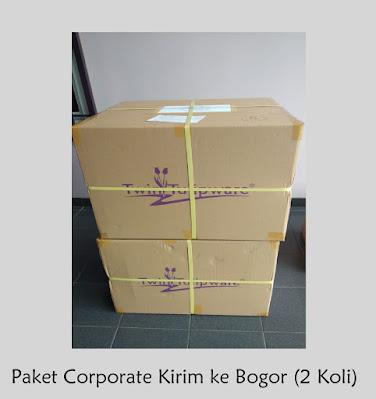 Pesanan Tulipware Corporate Kirim ke Bogor