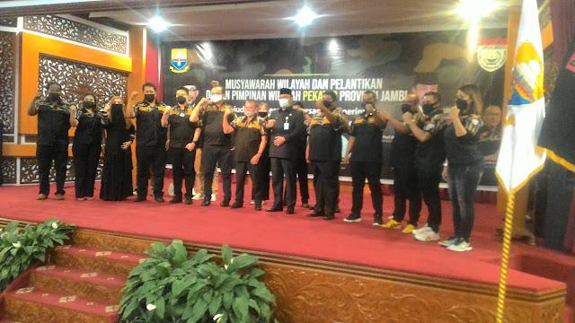 DPW Pekat IB Provinsi Jambi Resmi Dilantik