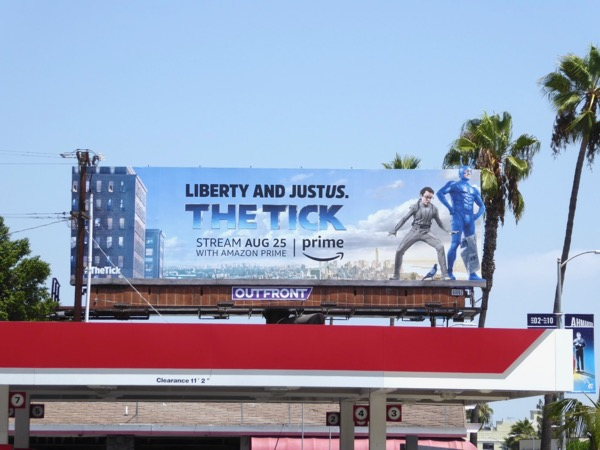 Tick TV remake billboard