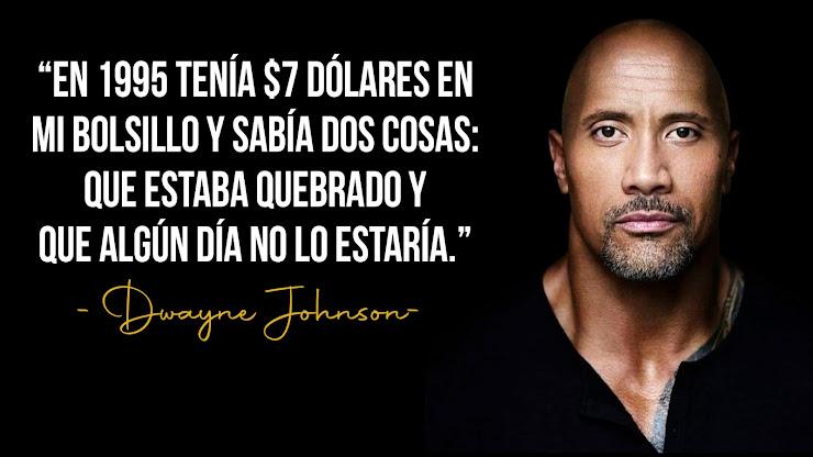 Frase de Dwayne Johnson La Roca