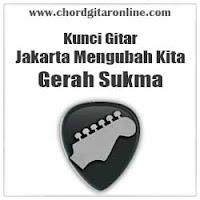 Chord Kunci Gitar Gerah Sukma Jakarta Mengubah Kita