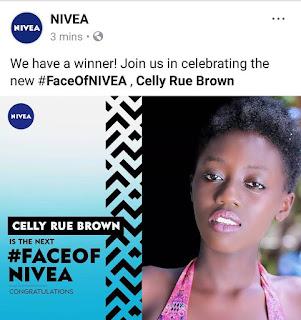 celly rue face of nivea 2017