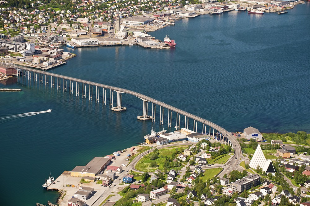 City of Tromsø, Norway. Photo is property of VisitNorway.com. Unauthorized use is prohibited.
