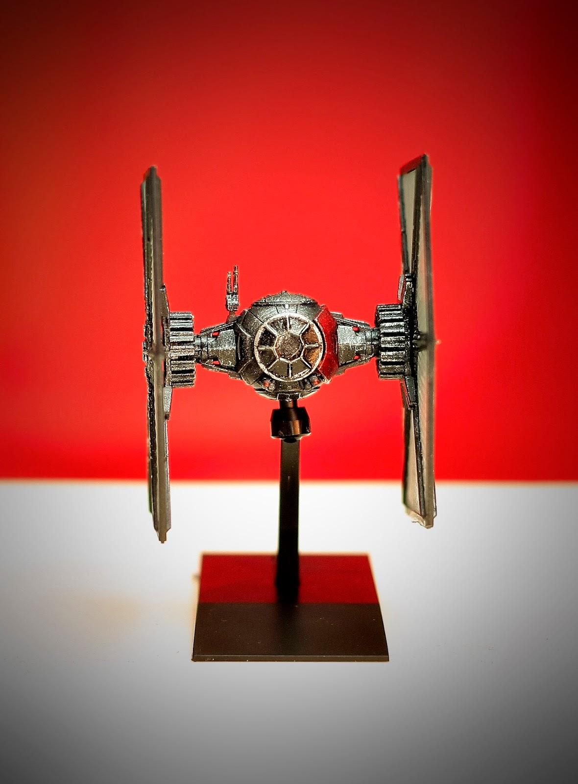 Star First Fighter Wars Order Tie Paint