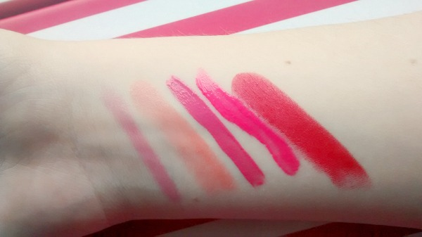 Summer Lip Pick Swatches