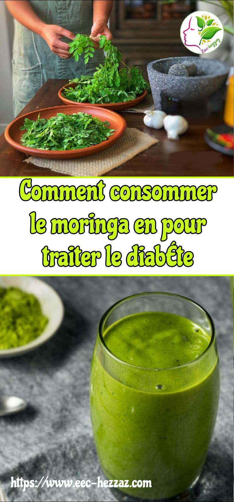 Comment consommer le moringa en pour traiter le diabète