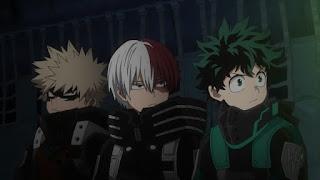 ヒロアカ 5期 | 緑谷出久 轟焦凍 爆豪勝己 冬のインターン  冬 コスチューム | Deku Tdoroki Bakugo | 僕のヒーローアカデミア My Hero Academia | Hello Anime !