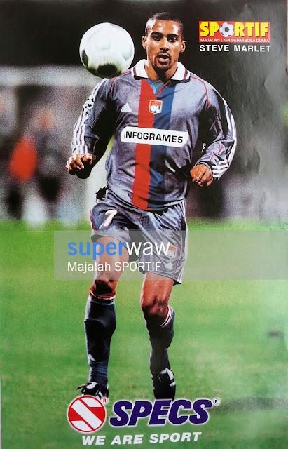 Steve Marlet (Olympique Lyonnais 2000)