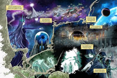 BD - Manga - Capitaine Albator, Mémoires de l'Arcadia - Les Sylvidres prévoient de revenir sur Terre
