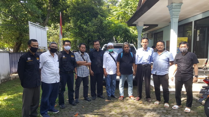 Organisasi Pawang 1678 Datangi Kesbangpol Kota Bogor