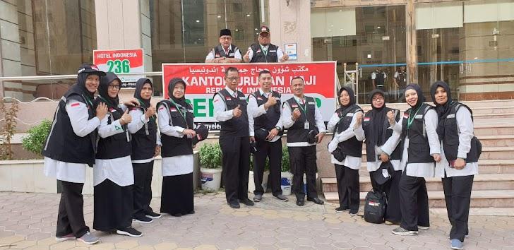 Petugas Haji Indonesia Sektot Dua, Para Jamaah Harus Jaga Kesehatannya di Mekah