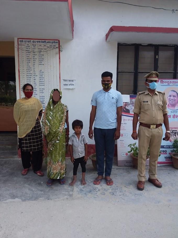 कुशीनगर :थाना सेवरही पुलिस ने अपहृत नाबालिक बच्चे को सकुशल बरामद  कर अपहरणकर्ता को किया गिरफ्तार