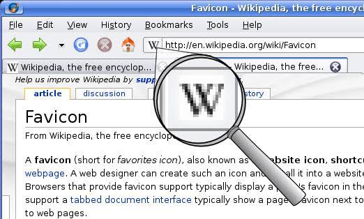 Example of Favicon