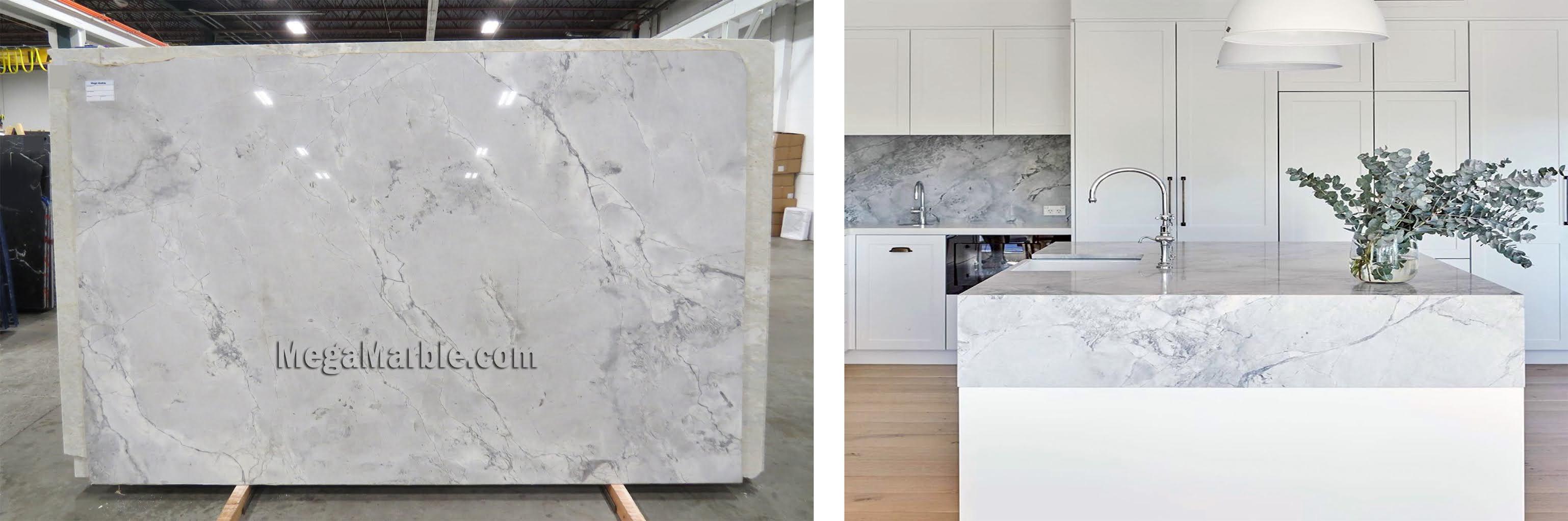 White Vermont Quartzite Super White Quartzite Kitchen Countertops