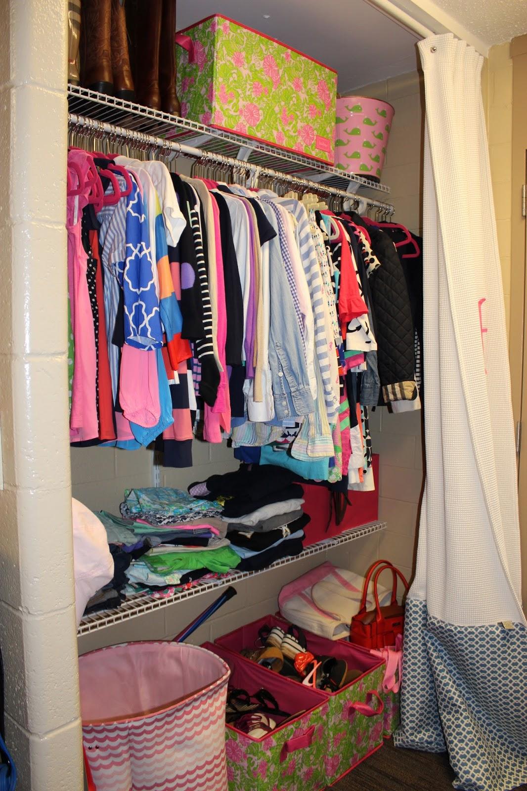 Dorm Room Closet: 2 Preps & A Dorm Room