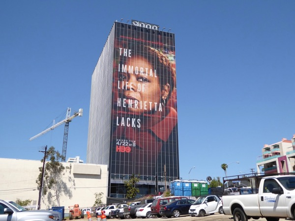 Oprah Winfrey Immortal Life Henrietta Lacks billboard