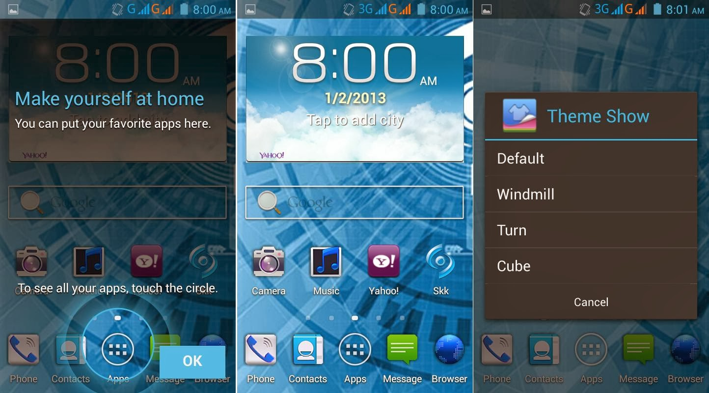 SKK Mobile Wind Review Homescreen