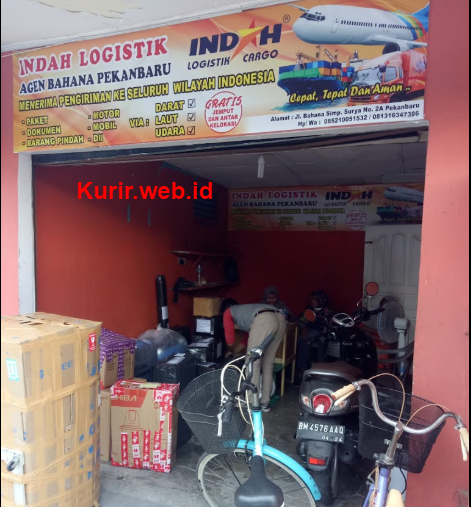agen Indah Cargo di Pekanbaru