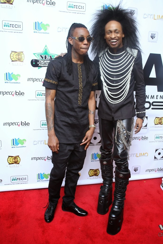 P67A9940 Red carpet photos from 2014 Nigeria Entertainment Awards