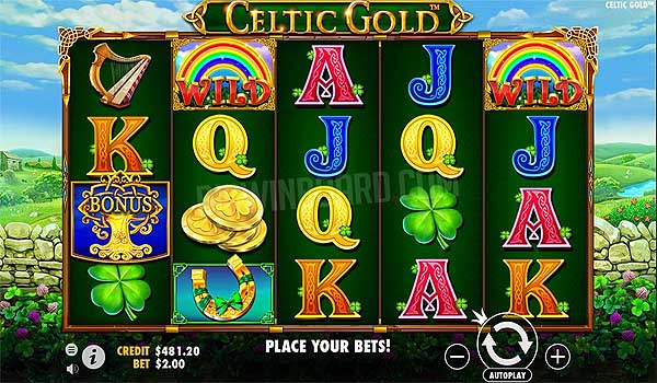 Main Gratis Slot Indonesia - Celtic Gold (Pragmatic Play)