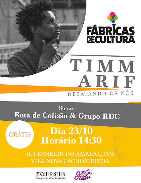 Show l Timm Arif na Fabrica de Cultura Vila Nova Cachoeirinha