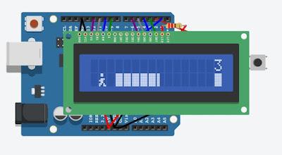 Membuat Game dengan LCD 16x2 Arduino